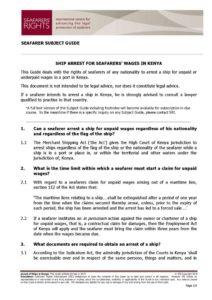 KENYA.SUBJECTGUIDE.ARRESTFORSEAFARERSWAGES_2013_ENG