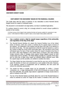MARSHALL-ISLANDS.SUBJECTGUIDE.ARRESTFORSEAFARERSWAGES_2013_ENG