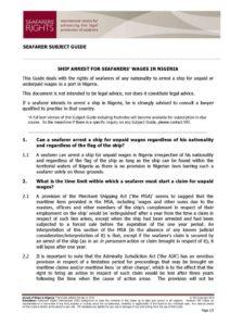 NIGERIA.SUBJECTGUIDE.ARRESTFORSEAFARERSWAGES_2013_ENG1