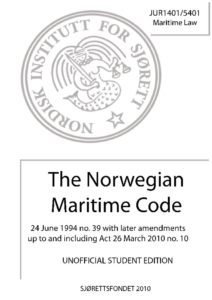 NOR_LEGISLATION_NORWEGIAN-MARITIME-CODE_1994_ENG
