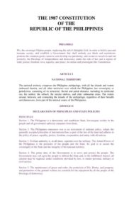 PHL_LEGISLATION_CONSTITUTION-OF-THE-REPUBLIC-OF-THE-PHILIPPINES_1987_ENG