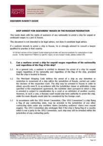 RUSSIA.SUBJECTGUIDE.ARRESTFORSEAFARERSWAGES_2013_ENG1