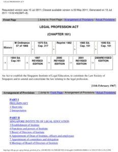 SGP_LEGISLATION_LEGAL-PROFESSION-ACT_2011_ENG