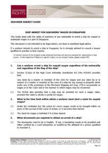 SINGAPORE.SUBJECTGUIDE.ARRESTFORSEAFARERSWAGES_2013_ENG1