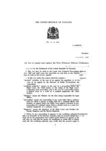 TZA_LEGAL-AID-CRIMINAL-PROCCEDINGS-ACT_1969_ENGLISH