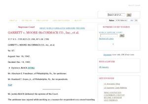 USA_CASE-LAW_GARRETT-V-MOOR-MCCORMACK-CO_1942_ENG
