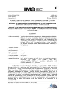 INTERNATIONAL_TREATY_ITF-IFSMA-CMI-INTERMANAGER-SUBMISSION-TO-IMO-LEG-102-4_2015_ENG