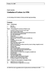 AUS_LEGISLATION_LIMITATION-OF-ACTIONS-ACT-SA_1936_ENG