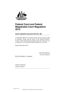 AUS_REGULATIONS_FED.-AND-FED.-MAG.-COURT-REG_2012_ENG