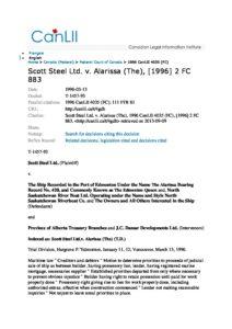 CAN_CASE_SCOTT-STEEL-LTD-V-ALARISSA-THE_1996_ENG