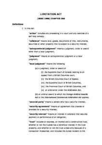 CAN_LEGISLATION_BRITISH-COLUMBIA-LIMITATION-ACT_1996_ENG