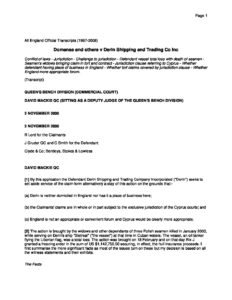 GBR_CASE_DOMANSA-V-DERIN-SHIPPING-AND-TRADING-CO_2000_ENG