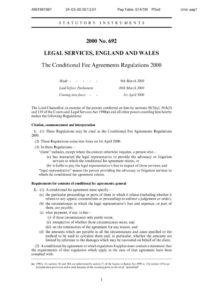 GBR_REGULATIONS_CONDITONAL-FEE-AGREEMENTS-REGULATIONS-2000_ENG