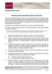 HONG-KONG.SUBJECTGUIDE.MARITIMELIENSFORSEAFARERSWAGES_2013_ENG