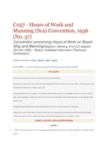 INTERNATIONAL_TREATY_ILO-CONVENTION-C057_1936_ENG
