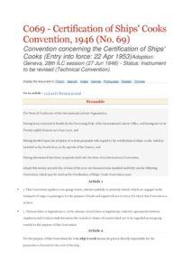 INTERNATIONAL_TREATY_ILO-CONVENTION-C069_1946_ENG