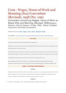 INTERNATIONAL_TREATY_ILO-CONVENTION-C109_1958_ENG