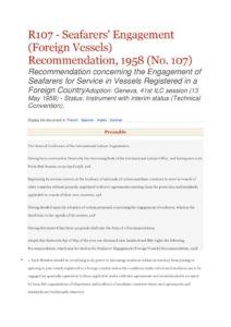 INTERNATIONAL_TREATY_ILO-REC-R107_1958_ENG