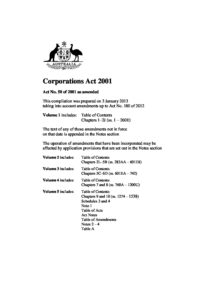 AUS_LEGISLATION_CORPORATIONS-ACT-2001_ENG-part-1