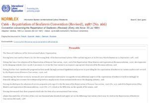 INTERNATIONAL_TREATY_REPATRIATION-OF-SEAFARERS-CONVENTION_1987_ENG