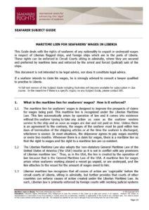 LIBERIA.SUBJECTGUIDE.MARITIMELIENSFORSEAFARERSWAGES_2013_ENG