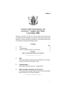 NZL_RULES_LAWYERS-AND-CONVEYANCERS-ACT-LAWYERS-CONDUCT-AND-CLIENT-CARE-RULES_2008_ENG