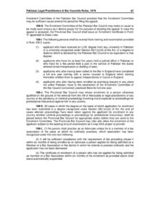 PAK_LEGISLATION_BAR-COUNCIL-RULES-PART-3_1973_ENG