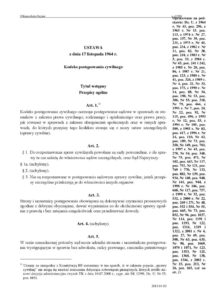 POL_LEGISLATION_CODE-OF-CIVIL-PROCEDURE_1964_POL