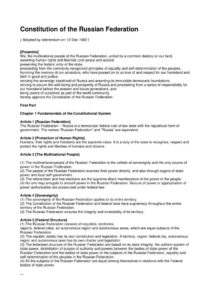 RUS_LEGISLATION_CONSTITUTION-OF-THE-RUSSIAN-FEDERATION_1993_ENG