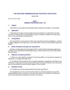 TZA_THE-ADVOCATES-REMUNERATION-AND-TAXATION-OF-COSTS-RULES_1991_ENGLISH1