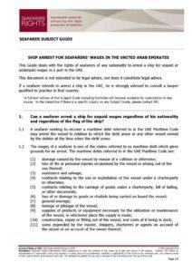 UAE.SUBJECTGUIDE.ARRESTFORSEAFARERSWAGES_2013_ENG