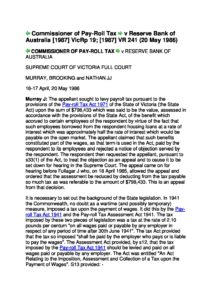 AUS_CASE_COMMSNR-OF-PAYROLL-TAX-V-RESERVE-BANK_1957_ENG