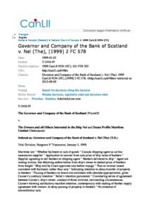 CAN_CASE_GOVERNOR-AND-COMPANY-OF-THE-BANK-OF-SCOTLAND-V-NEL_1999_ENG