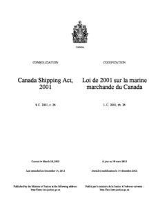 CAN_LEGISLATION_CANADA-SHIPPING-ACT_2001_ENG-FRA