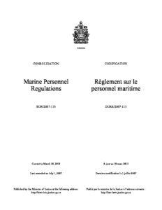 CAN_REGULATIONS_MARINE-PERSONNEL-REGULATION_2007_ENG-FRA