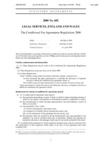 GBR_REGULATIONS_CONDITONAL-FEE-AGREEMENTS-REGULATIONS-2000_ENG