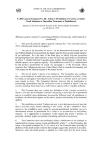 INTERNATIONAL_TREATY_HRC-GENERAL-COMMENT-NO-20-ARTICLE-7-CCPR_1992_ENG