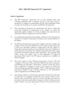 INTERNATIONAL_TREATY_IBF-FRAMEWORK-TCC-AGREEMENT_2012_ENG