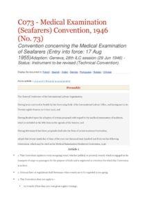 INTERNATIONAL_TREATY_ILO-CONVENTION-C073_1946_ENG
