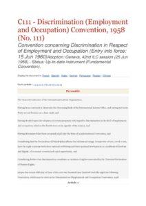 INTERNATIONAL_TREATY_ILO-CONVENTION-C111_1958_ENG