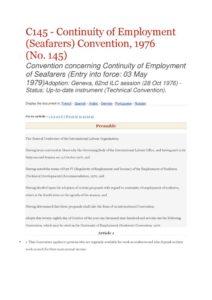 INTERNATIONAL_TREATY_ILO-CONVENTION-C145_1976_ENG
