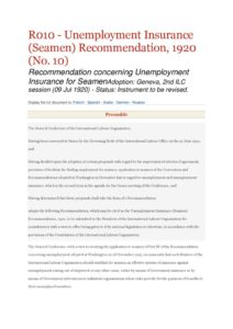 INTERNATIONAL_TREATY_ILO-RECOMMENDATION-R010_1920_ENG